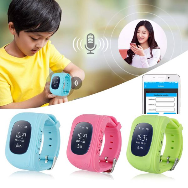 Q50 Kids GPS Smart Watch With Call Function 4